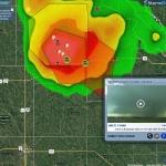 Live Video Tornadic Storm