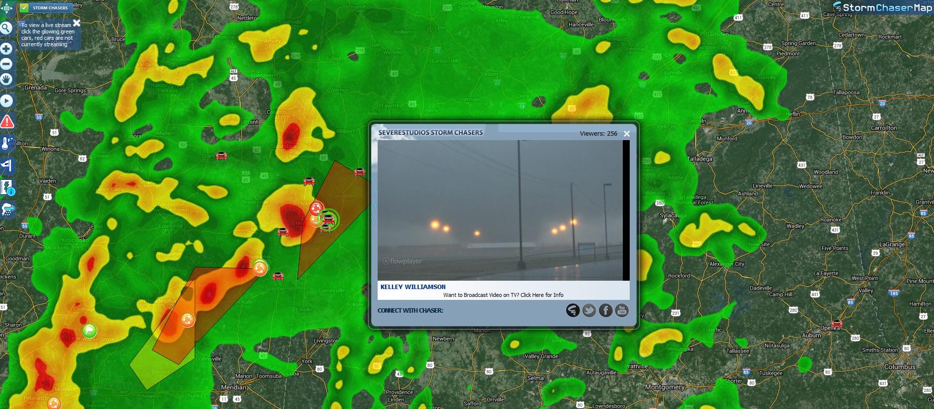 Map Features - Zoom Radar